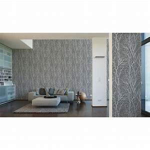Wall Art Tapete : a s cr ation tapete life 4 grau metallic 300943 wall ~ Eleganceandgraceweddings.com Haus und Dekorationen