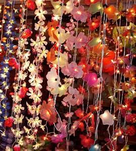 Guirlande Lumineuse Fleur : guirlandes lumineuses de no l id es d co ~ Teatrodelosmanantiales.com Idées de Décoration