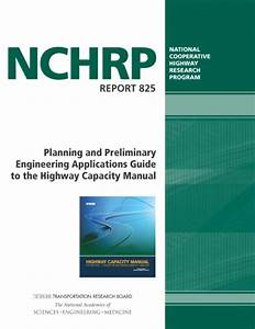 Planning And Preliminary Engineering Applications Guide To