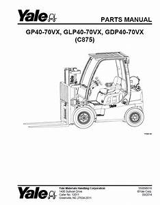 Yale Parts Manuals For Industrial Trucks Usa 2017
