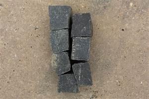 Pflastersplitt Berechnen : neues basalt mosaikpflaster 4 6 cm reihenf hig ~ Themetempest.com Abrechnung