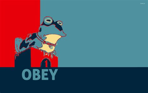 Hypnotoad Wallpaper Animated - obey wallpaper vector wallpapers 28683
