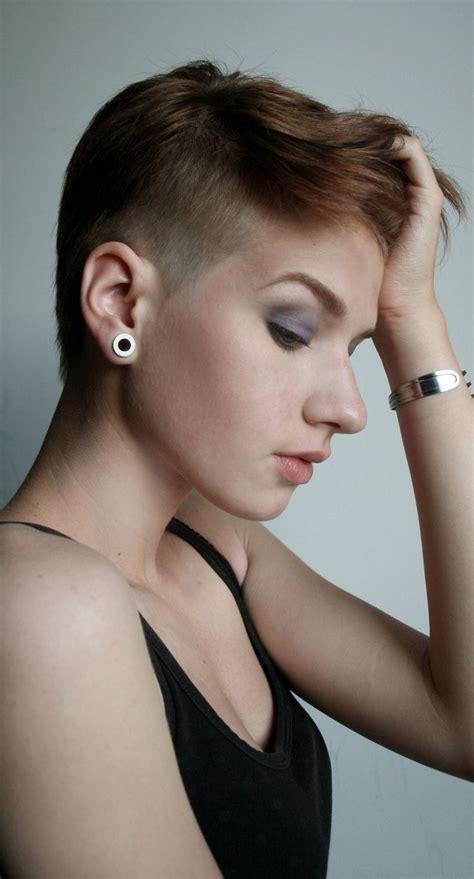medium hair styles for 171 best undercuts pixie hawks faux hawks images on 2899