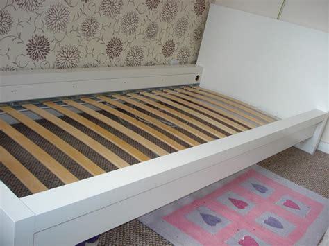 ikea sultan leroy bed frame in mint condition
