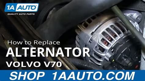 replace alternator   volvo  youtube