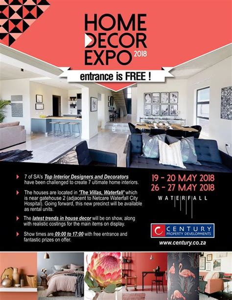 Home Decor Expo 2018 At Waterfall Midrand, Johannesburg