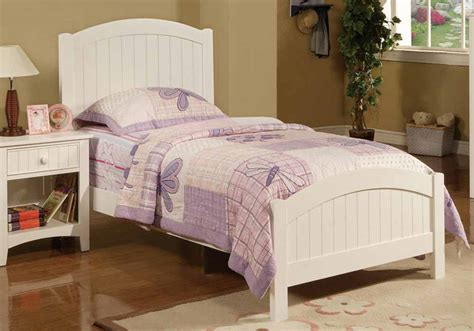 contemporary sturdy wood youth kids twin bed frame