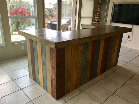 rustic blues rustic barn wood style bar sales