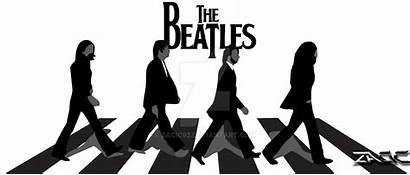 Beatles Abbey Road Clipart Silhouette Clip Vector