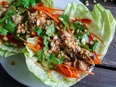 thai chicken tacos barbells and bellinis thai chicken tacos