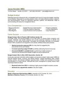 data analyst resume sle technical system analyst