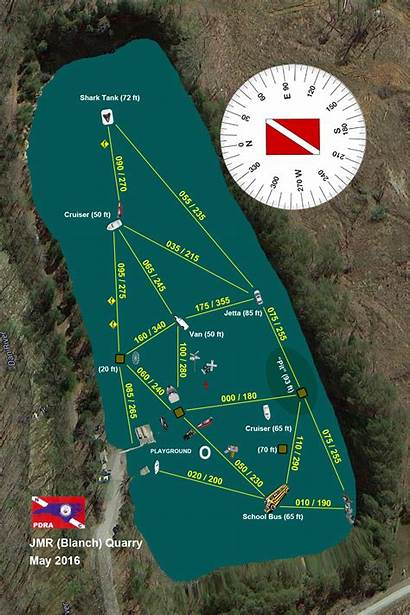 Quarry Jmr Blanch Map Pdf Diving