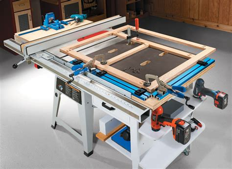 table  project center woodworking project woodsmith plans