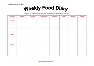 Food Diary Diet Journal