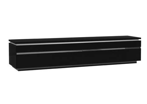 meuble tv noir laque id 233 es de d 233 coration et de mobilier pour la conception de la maison