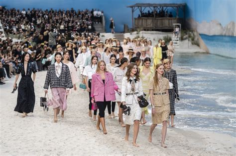 Life Really Is A Beach At Chanel's Spring 2019 Spectacular