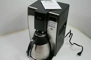Image not available for color: Mr. Coffee 10 Cup Coffee Maker w Optimal Brew Thermal ...
