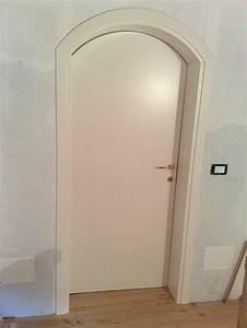 Porta laccata ad arco Padova Realizzazione porte, finestre, portoncini d'ingresso e scuri in