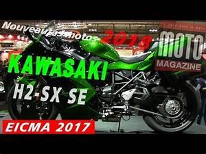 Salon Moto Milan 2017 : kawasaki h2 sx 2018 une gt turbocompress au salon moto de milan eicma 2017 youtube ~ Medecine-chirurgie-esthetiques.com Avis de Voitures