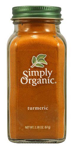 089836185259 Upc  Simply Organic Turmeric, 238 Oz (67 G