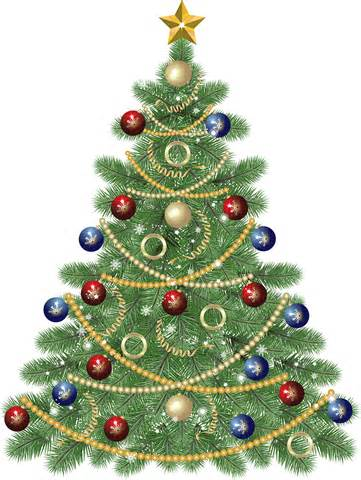 christmas tree clip art free large images