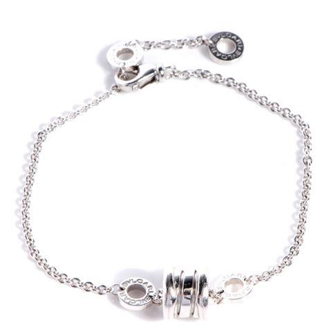 bvlgari bulgari b zero 1 18k white gold 1 band ring size bulgari bvlgari 18k white gold b zero1 bracelet 75703