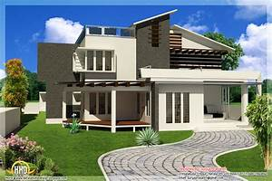 new contemporary mix modern home designs kerala home With images of modern home designs
