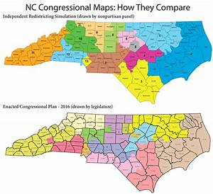 Nonpartisan Redistricting Panel Reveals Unofficial Nc