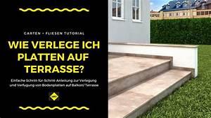 Fliesen Außenbereich Frostsicher Verlegen : bodenfliesen bodenplatten auf balkonen und terrassen ~ Watch28wear.com Haus und Dekorationen