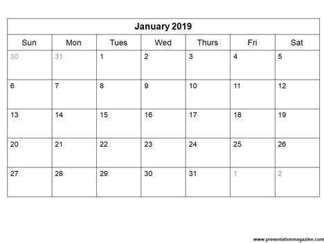 Sunday School Calendar Template by Free 2019 Printable Calendar Template Sunday Start