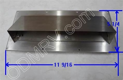 Stainless Steel Range Exhaust Vent 39763W 02 [39763W 02