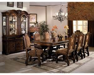 neo renaissance elegant 7pc dining room set