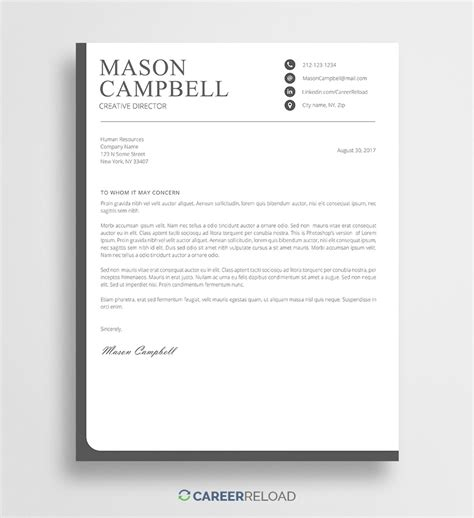 cover letter template   cover letter examples