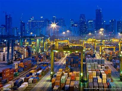 Logistics Container Wallpapers Geographic National Acg Import