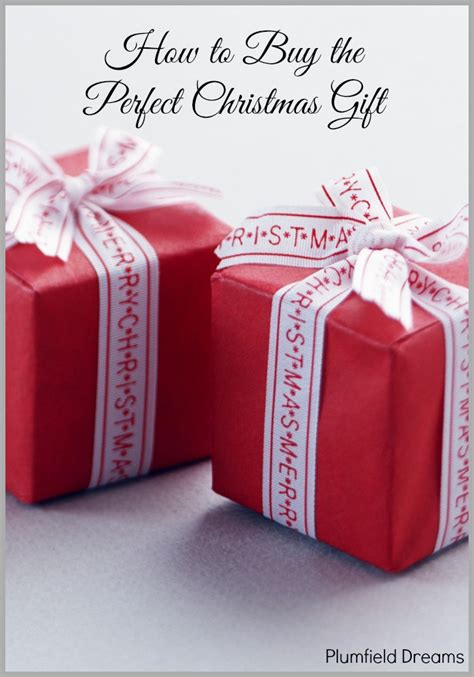 how to buy the perfect christmas gift plumfield
