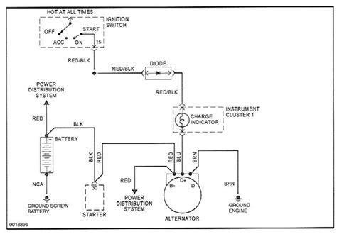 Car Wiring Diagram For Alternator And Starter by Alternator Replacement Nightmare Rennlist Porsche
