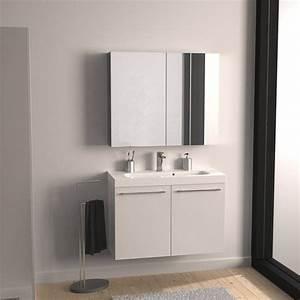 Meuble Sous Vasque Blanc : meuble sous vasque x x cm blanc sensea remix leroy merlin ~ Teatrodelosmanantiales.com Idées de Décoration