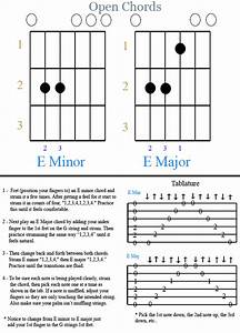 Guitar Manual Sample Pg 03 Open Chords Pg 01
