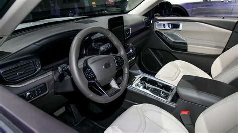 ford explorer debuts   rear drive platform