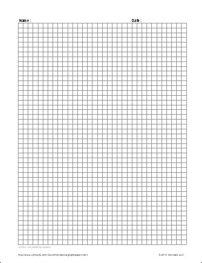 Graph Paper Template Page Graph Paper Template Printables And Menu