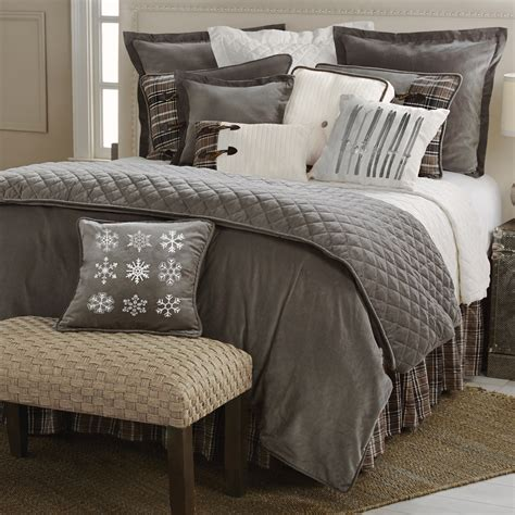 rustic comforter sets king rustic bedding king size silver mountain bed set black