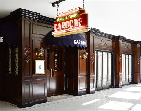 cuisine las vegas carbone restaurant brings swanky style to