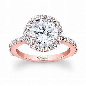 barkev39s rose gold engagement ring 7839lp With rosegold wedding ring