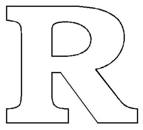 r in letters images the letter r letter r jpg coloring painting 24185