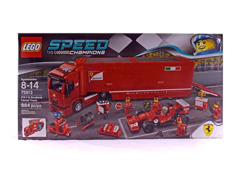 View and download lego 75910 speed champions assembly manual online. F14 T & Scuderia Ferrari Truck - LEGO set #75913-1 (NISB) (Building Sets > Speed Champions)