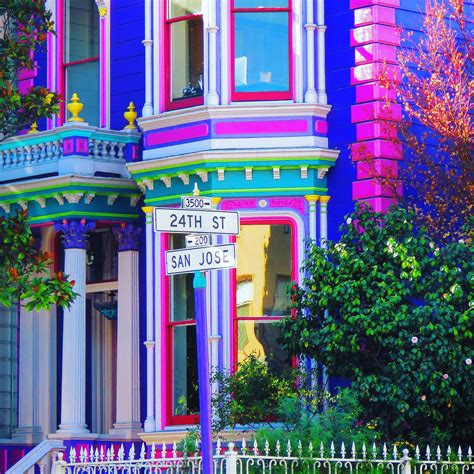 Colourful House by Colorful On 24th And San Jose In The