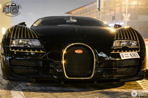 The heritage of the bugatti brand is celebrated through top quality materials and great attention to detail. Bugatti Veyron 16.4 Grand Sport Vitesse Black Bess - 2 januari 2015 - Autogespot