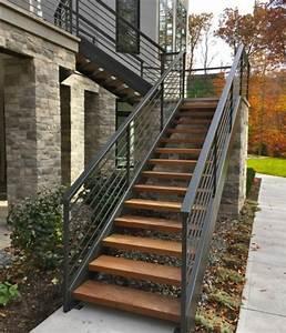 Escalier Exterieur Metal : l 39 escalier ext rieur en 57 photos qui vous feront r ver ~ Voncanada.com Idées de Décoration