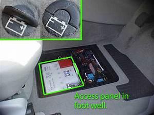 Mercedes A Class Car Battery Location