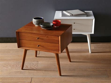 modern bedside tables night stand west elm mid century